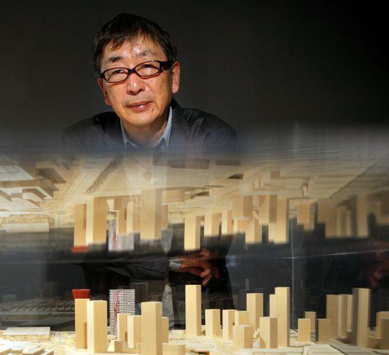El arquitecto Toyo Ito, ganador del Premio Pritzker que se acaba de fallar.