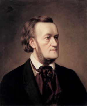 Richard Wagner, visto por Caesar Willich (1862).