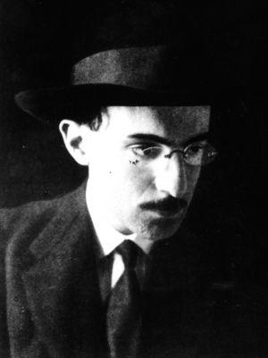 Retrato de Fernando Pessoa en su juventud.