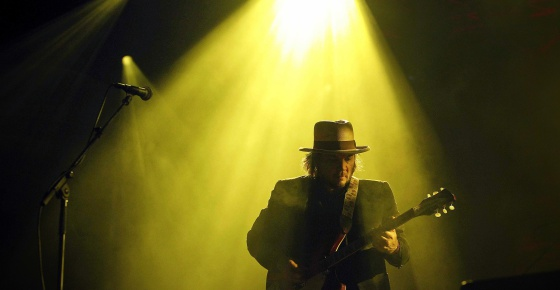 Jeff Tweedy, líder de Wilco, en el Primavera Sound de 2012.