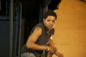 Uno de los actores de 'Quijotadas', durante un ensayo.