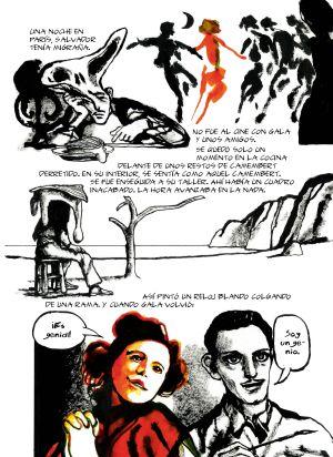 Página de 'Dalí'.