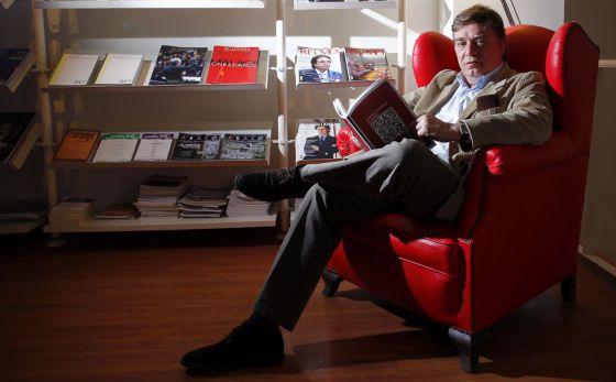 El presidente de la Asociación de Revistas Culturales de España, Manuel Ortuño.