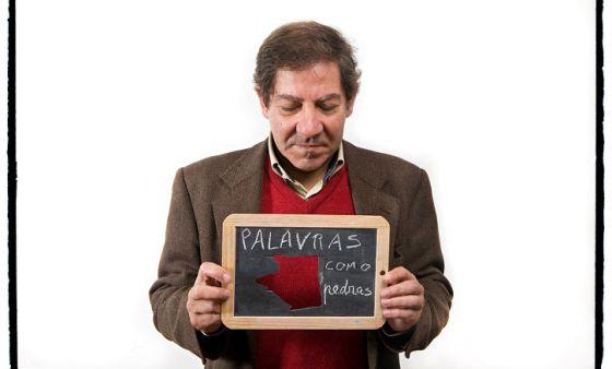 El escritor Nuno Judice.