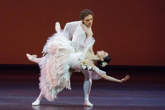 Tamara Rojo y Sergei Polunin, en un momento de su actuación.