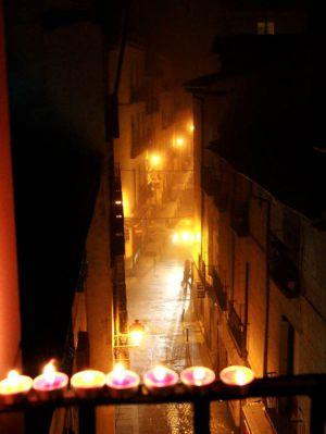'Noche de velitas', de Diana Manrique Horta.