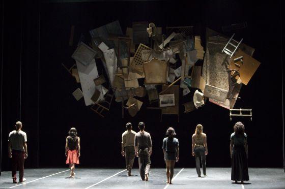 El espectáculo 'Babel'.