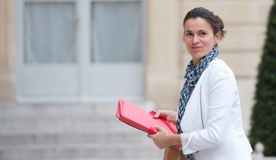 La ministra francesa de Cultura y Comunicación, Aurelie Filippetti.