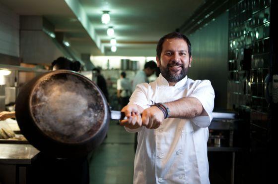 Enrique Olvera dirige en el DF el restaurante Pujol.