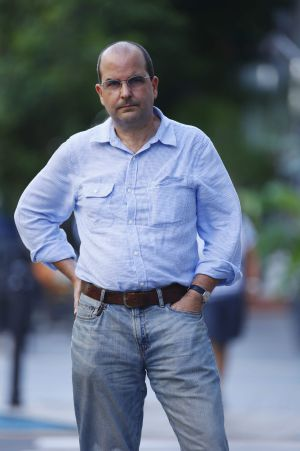 El escritor Eduardo Lalo.