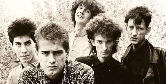 La formación de Radio Futura que grabó 'La canción de Juan Perro'.