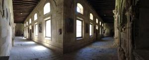 Claustro de la Catedral Vieja de Salamanca.
