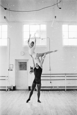 David Wall y Margot Fonteyn, en 1968.