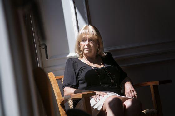 Beatriz de Moura, en la sede de su editorial en Barcelona.