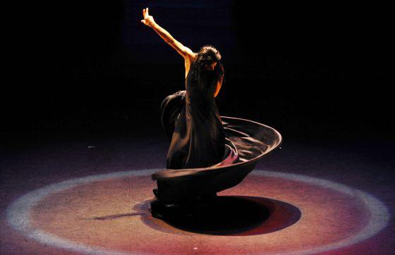 Una imagen de 'Medea' del Ballet Nacional de España, que inaugura el festival de Mérida.