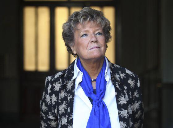 La escritora italiana Dacia Maraini.
