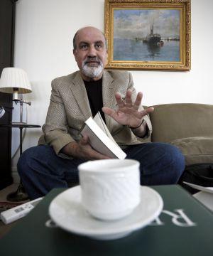 El escritor Nassim Taleb.