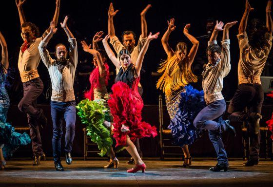 El cuerpo de baile del espectáculo 'Duende' ha sido seleccionado por casting entre artistas de toda España.