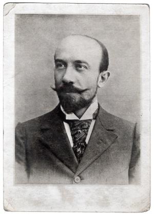 Georges Méliès en 1895, a los 34 años de edad.