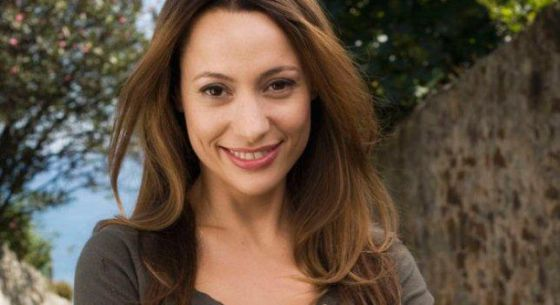 La actriz Natalia Verbeke, una de las protagonistas de la serie 'Lolita Cabert'