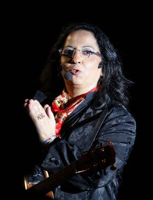 Inma Serrano, conductora del homenaje.