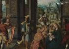 Tríptico de 'La Adoración de los Reyes Magos, de Pseudo Blesius