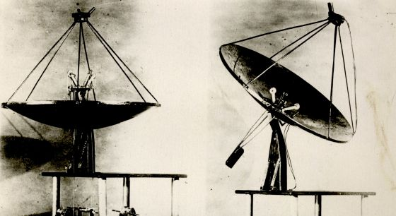 Concentradors solars de 1945