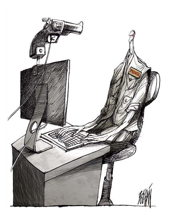 Caricaturas por la paz