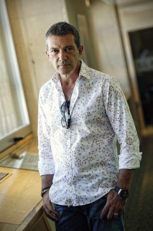 Antonio Banderas, retratado el jueves en la redacción de EL PAÍS.