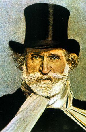 Giuseppe Verdi retratado por el pintor Giovanni Boldini.