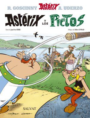 Portada de 'Astérix y los Pictos' de Jean-Yves Ferri y Didier Conrad.