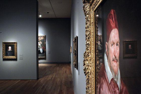 Exposición de 'Velázquez y la familia de Felipe IV' en el Museo del Prado.