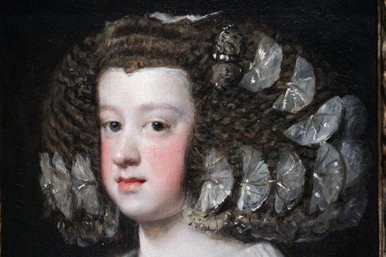 Exposición de 'Velázquez y la familia de Felipe IV' en el Museo del Prado en Madrid.