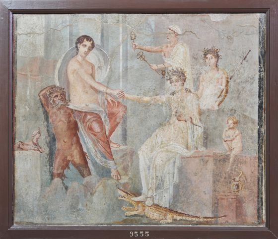 Una de las obras incluidas en la exposición sobre Cleopatra.