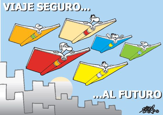 Ilustración de Forges para el Congreso Virtual de la Lengua.