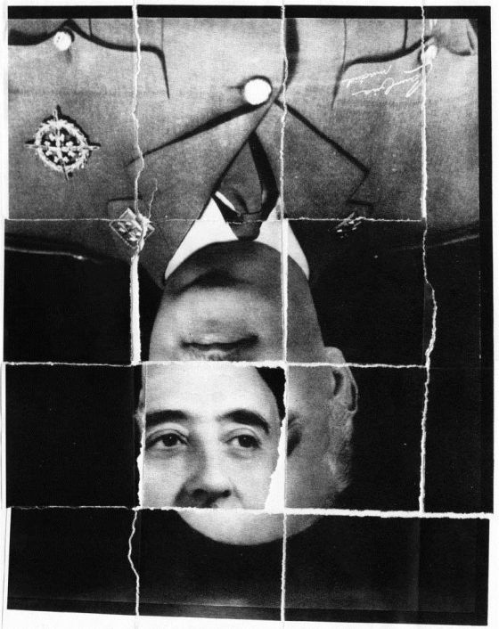 Serigrafía de Daniel Ritcher para 'Los colonos del Caudillo'.