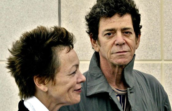 Laurie Anderson y Lou Reed.