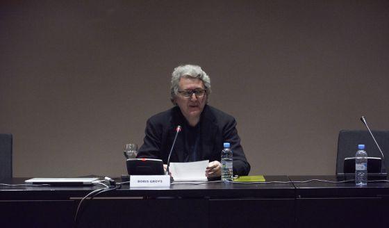 El filósofo Boris Groys, en Madrid.