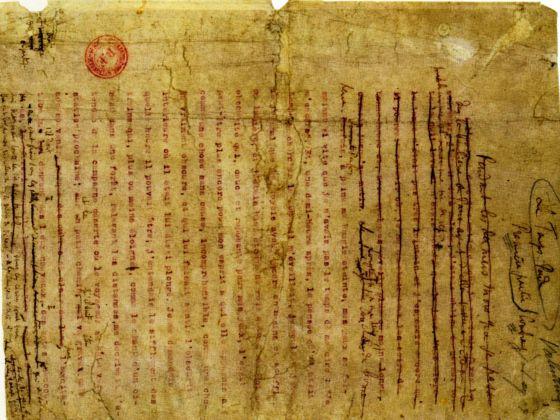 Una página del manuscrito de 'En busca del tiempo perdido'.