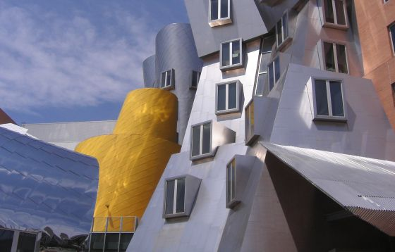 El Stata Center, en el Massachusetts Institute of Technology, obra de Frank Gehry.
