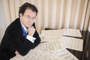 El compositor Mauricio Sotelo.