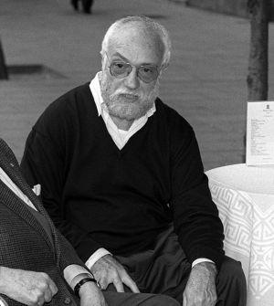 El compositor Josep Soler en una foto de archivo de 1994