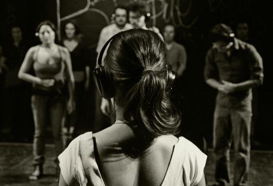 Imagen de la pieza de Roger Bernat inspirada en 'La consagración de la primavera'.