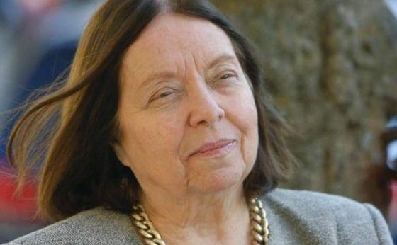 La escritora brasileña, Nélida Piñón.