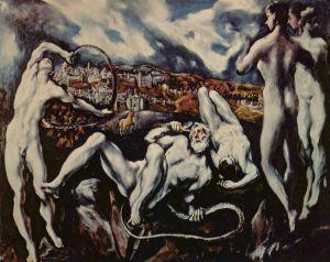 'Laocoonte', de El Greco,