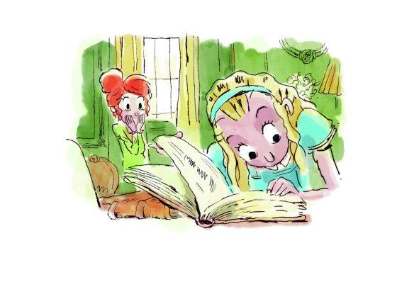Ilustración de Raúl Sagospe para 'Prohibido leer a Lewis Carroll', elegido el mejor libro para primeros lectores (de 6 a 12 años).