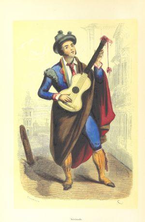 Imagen de 'La España pintoresca', de Manuel Galo de Cuendias y Victor de Féréal.