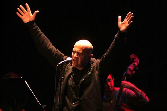Germán Coppini, en una actuación en Ferrol en 2009.