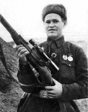 Vassili Záitsev, em Stalingrado.