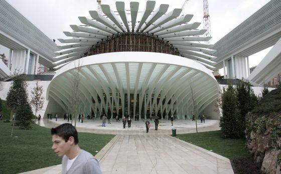 Palacio de Exposiciones y Congresos de Oviedo, de Santiago Calatrava.